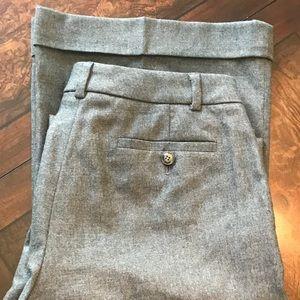Burberry London grey, wool, wide leg pant